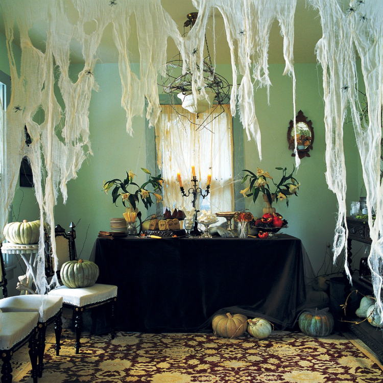 halloween house decoration halloween ideas living room - Halloween Home Decor Ideas