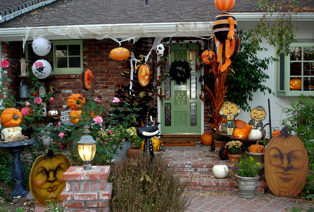 outdoor halloween decoration - Scary Halloween Yard Decorating Ideas