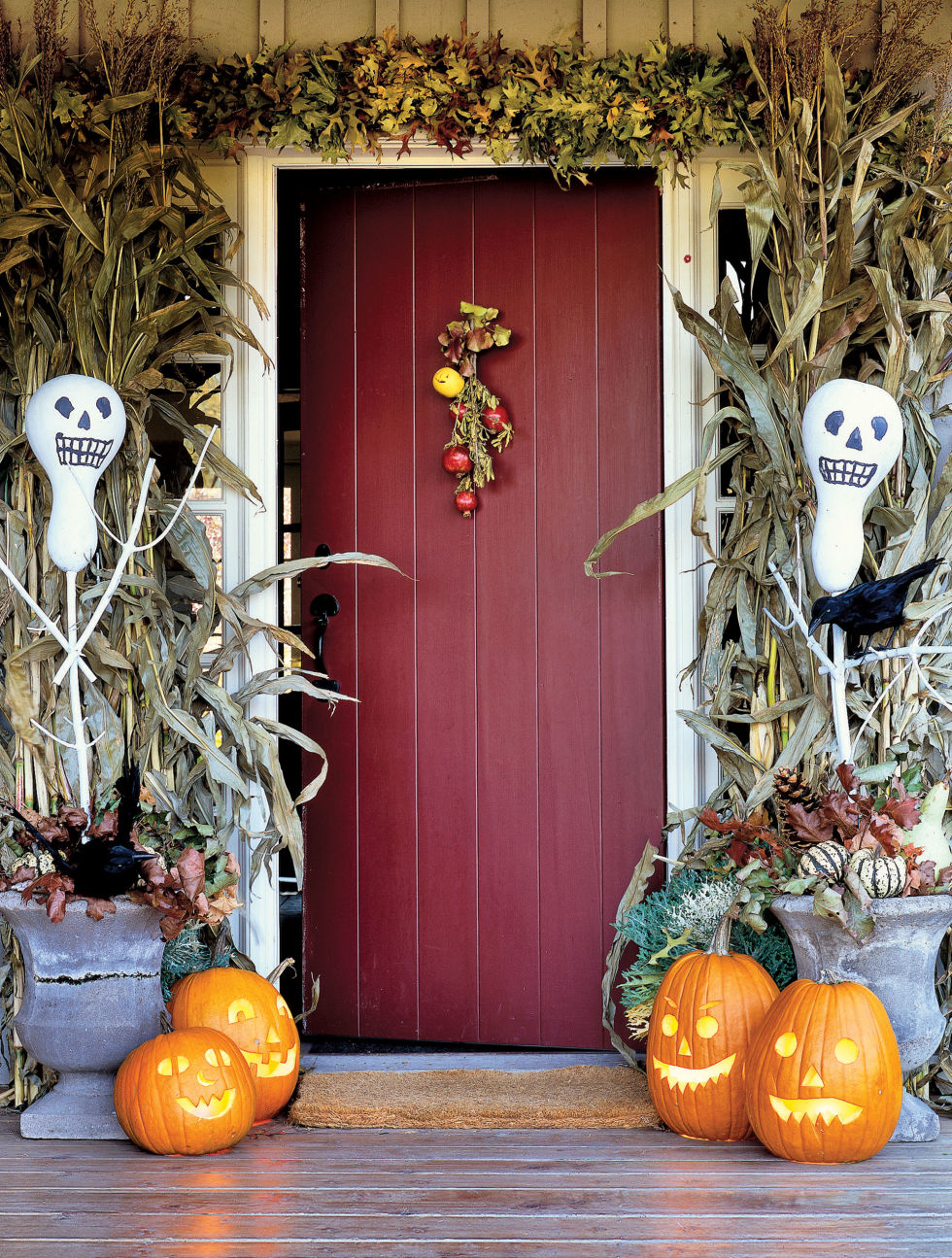 door halloween decorations - Halloween 2016 Decorations