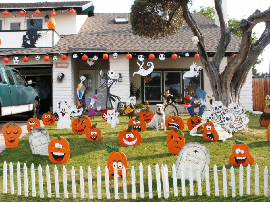 Outdoor halloween decorations ideas to stand out - Homemade halloween decorations ...