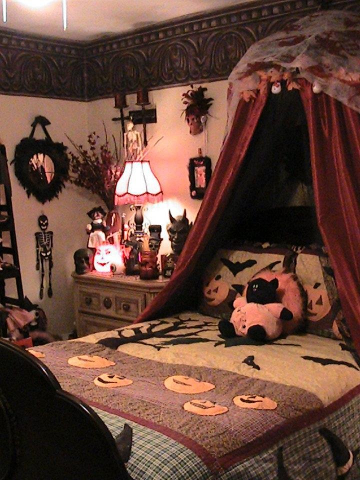 halloween bedroom decoration - Halloween Room Ideas