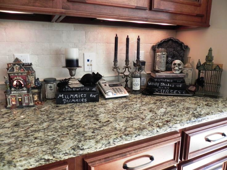 ordinary Kitchen Halloween Decorations #3: Halloween Kitchen Decoration