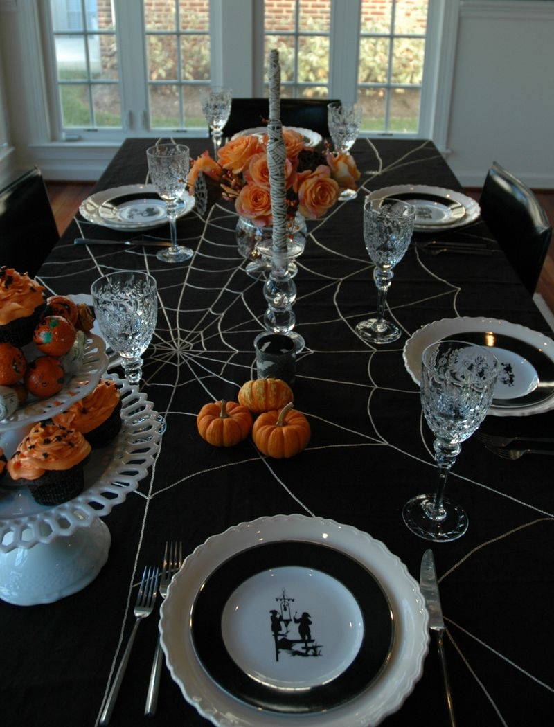 inspirational halloween table decorations craft - Halloween Table Decoration