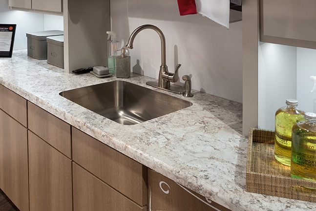 Solid Surface Kitchen Countertops : Kitchen and bath industry poised to flourish in