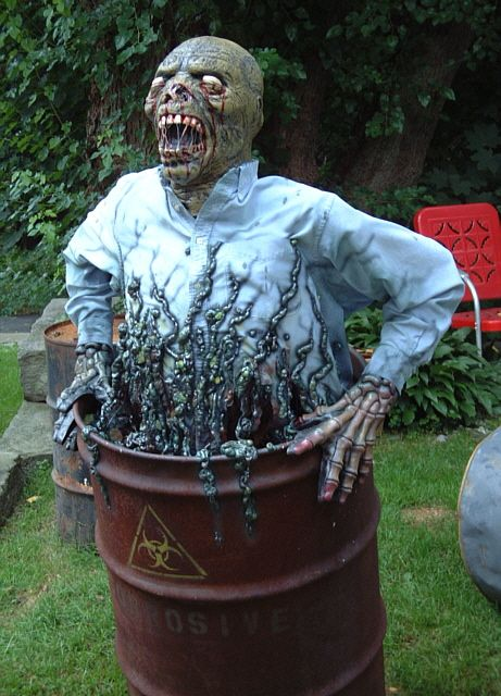 Scary Homemade Halloween Decor