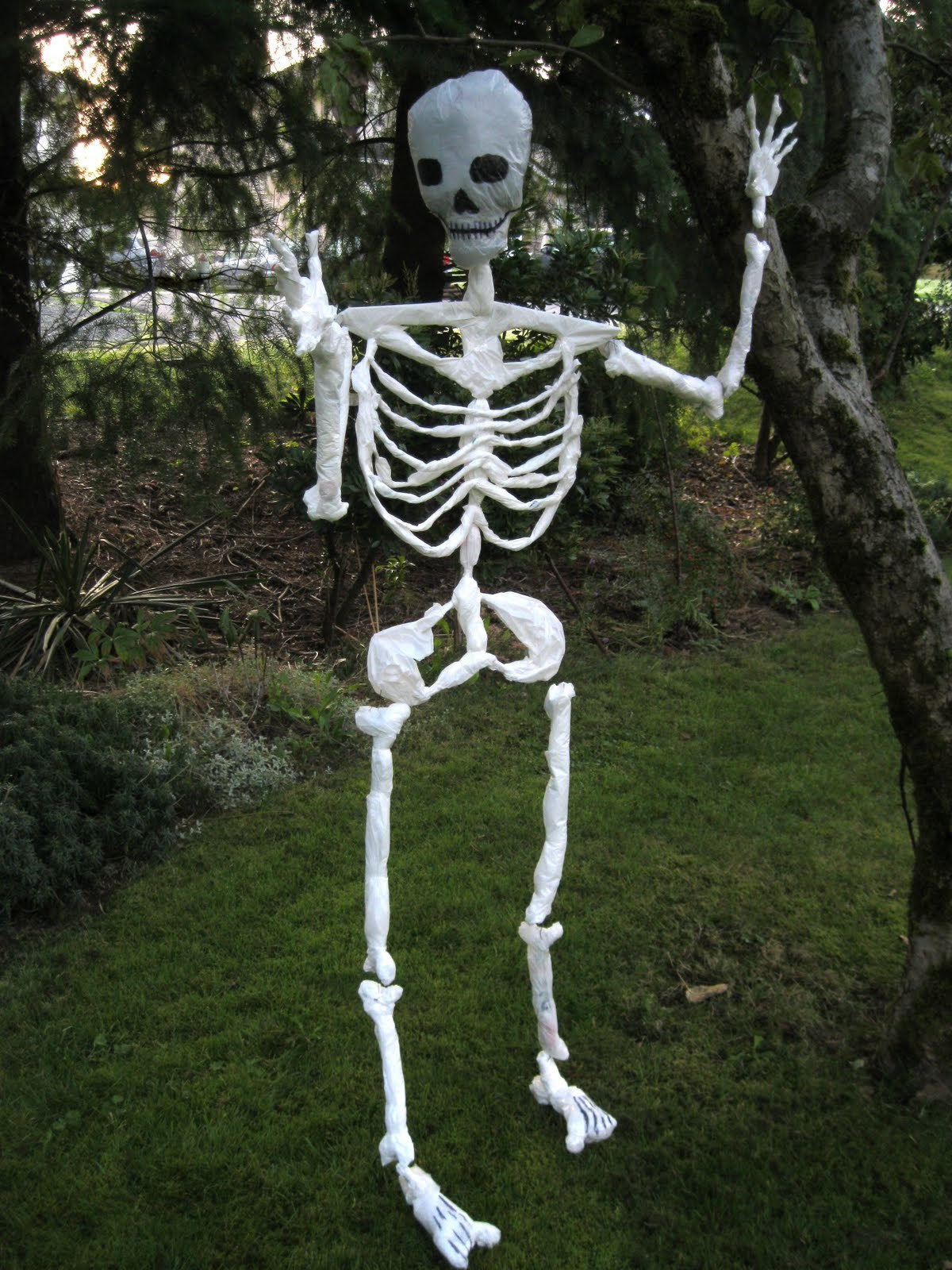 Are there any skeletons in your closet? Would you like there to be? Our assortment of skeleton props and skeleton parts are available for both indoor and outdoor use .