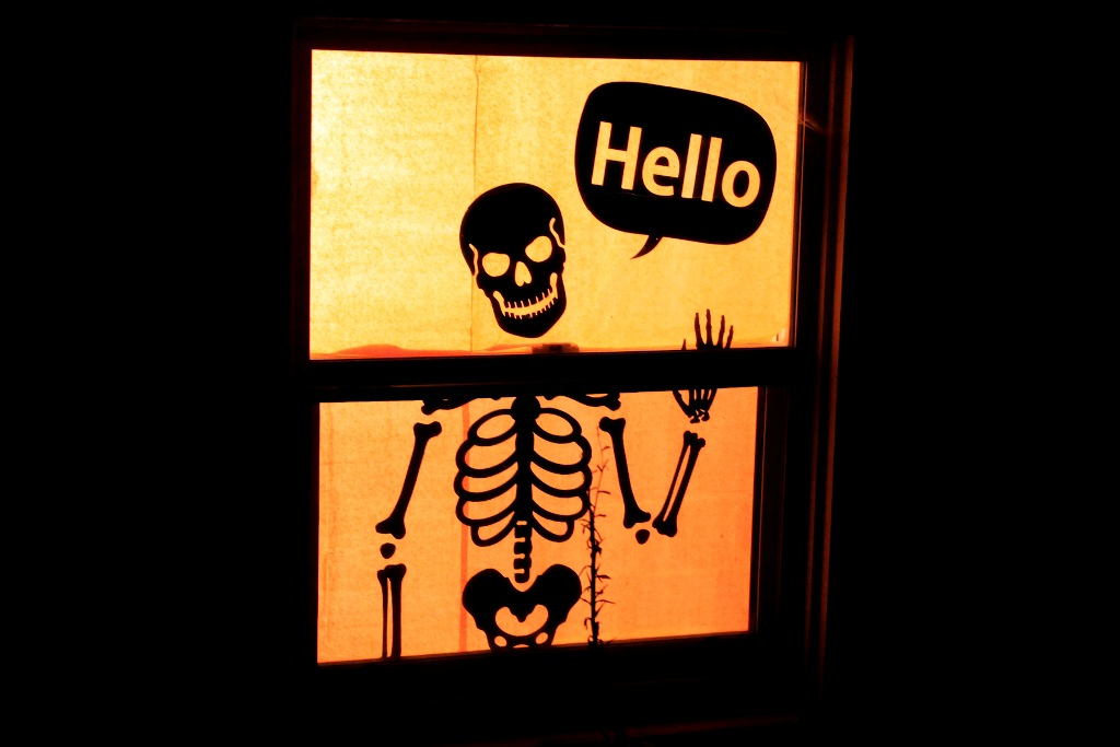 Halloween Windows Decoration