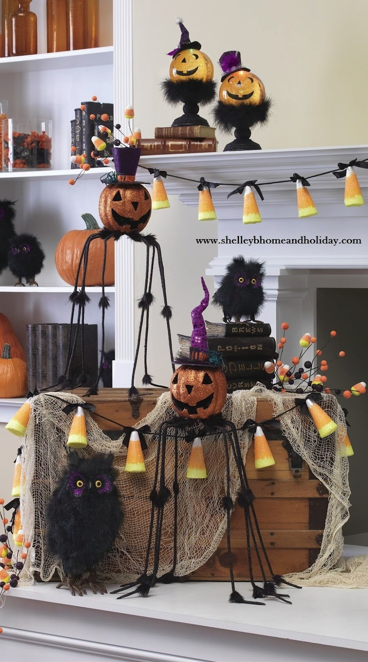 Cute halloween decorations can make your celebration stunning for Halloween decorations you can make at home