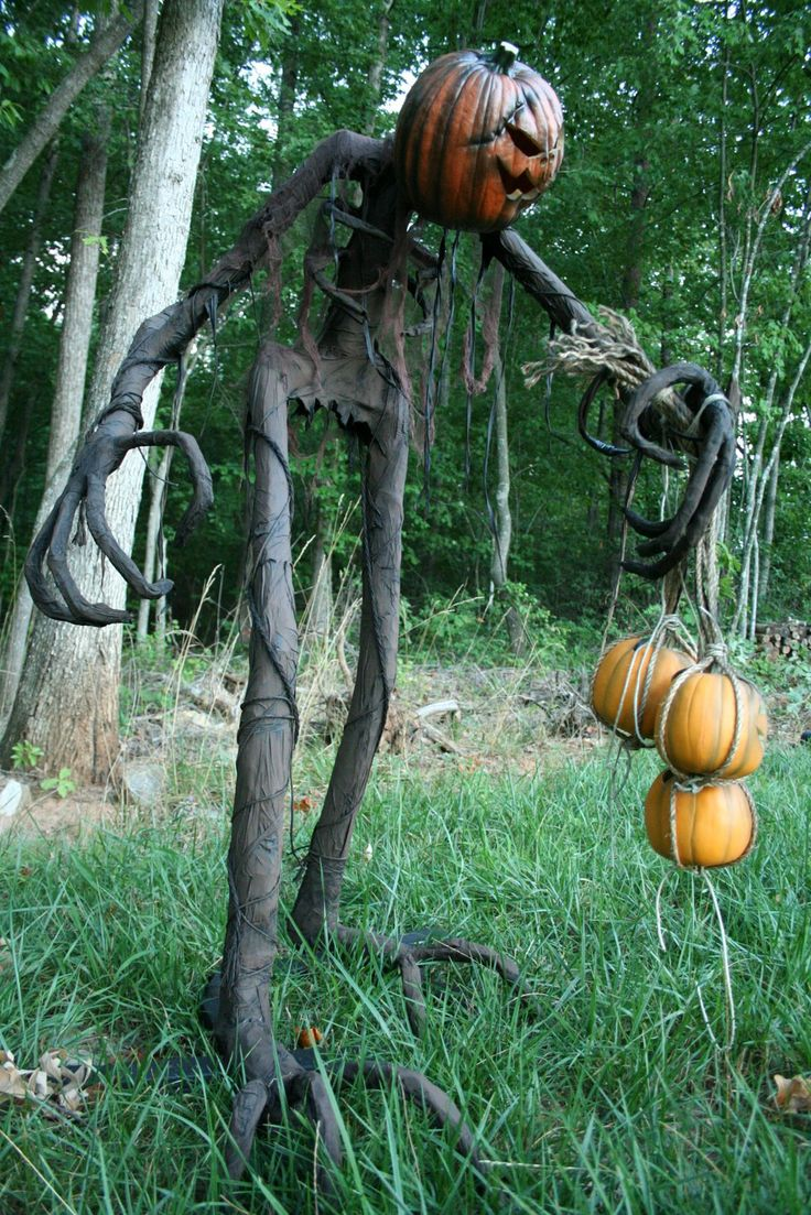 Making Halloween Props Yard