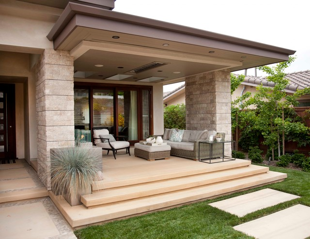 contemporary porch design