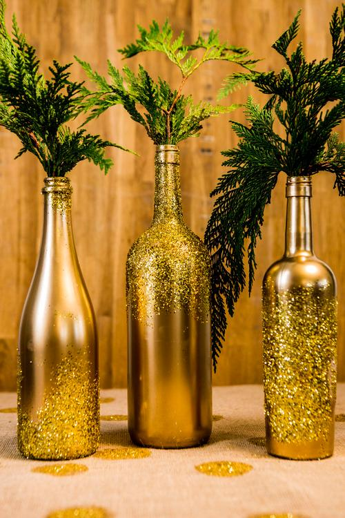 Decor Bottles Extraordinary 5 Unique & Creative Ways To Decorate Home With Old Bottles Decorating Design