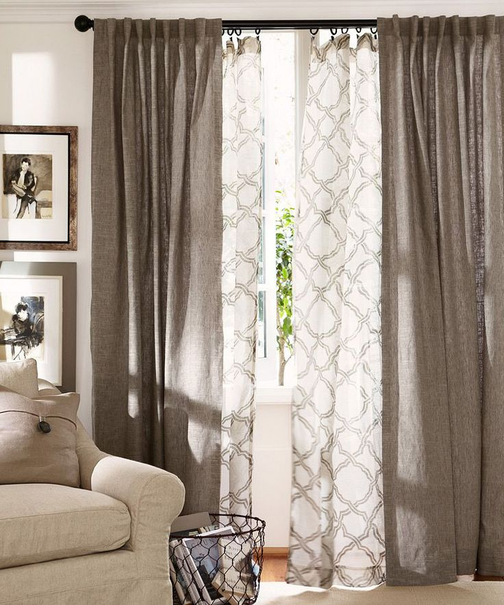 9 Ways To Design Your Living Room Without Spending Too Much on Living Room Drapes Ideas  id=52819
