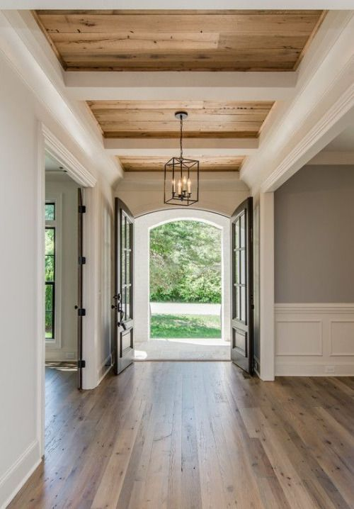 ... covering up those old fashioned popcorn ceilings. These squares use  rough or smooth wood styles to give your home the feel of a cabin or  country living.