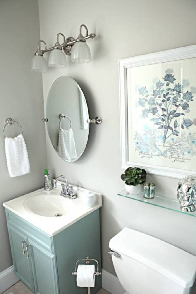 10 quick and easy bathroom decorating ideas for Fast bathroom remodel