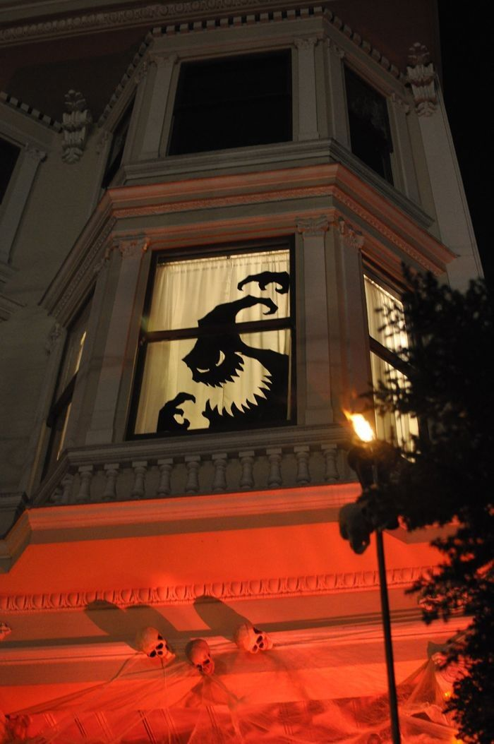 How To Decorate Your Homes Windows For Halloween