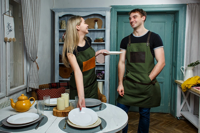 Get some cute looking aprons