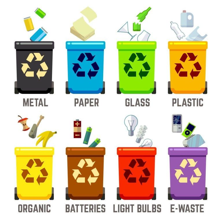 Identify the Types of Waste