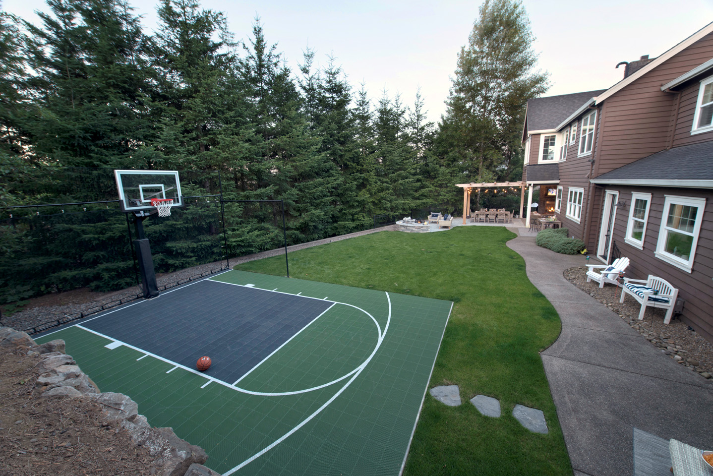 5 Reasons To Add A Basketball Court To Your Backyard Residence Style