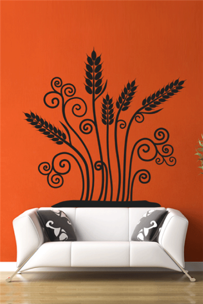 Ear of Wheat Wall Decals