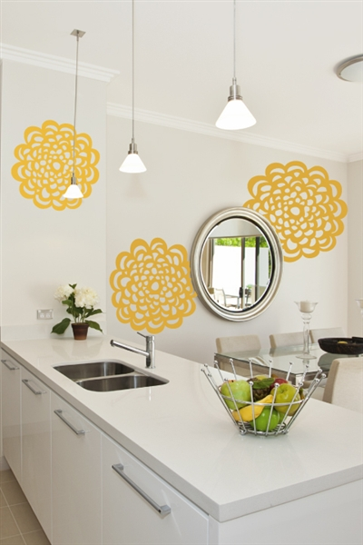 Lace Medallions Wall Art Decoration Ideas