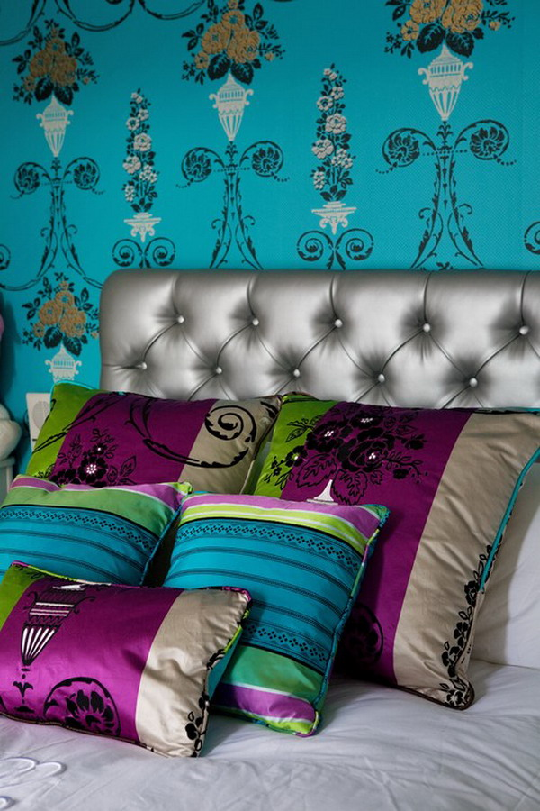 Nice Contemporary Bohemian Bedroom Murals Style