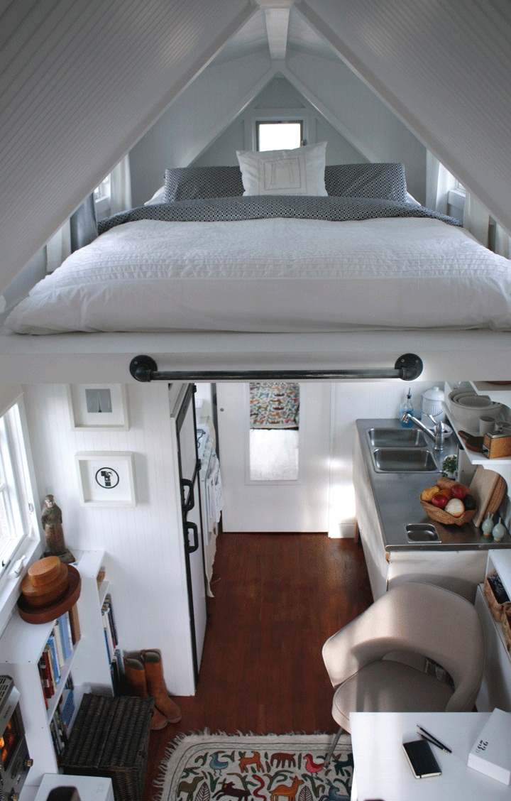 ProtoHaus Interior Small Space Alcove Beds