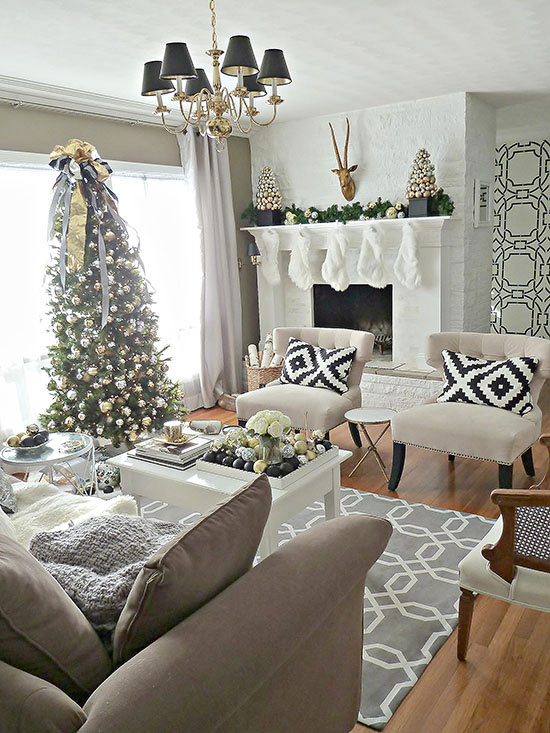 christmas living room decorations