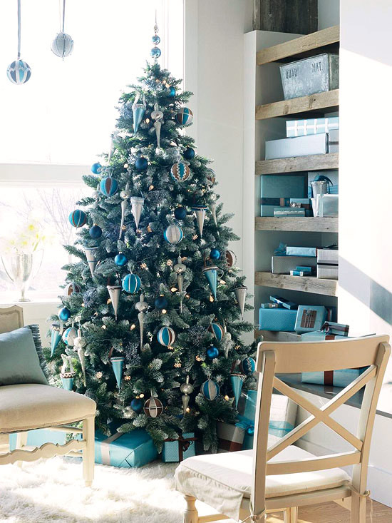 christmas living rooms tree