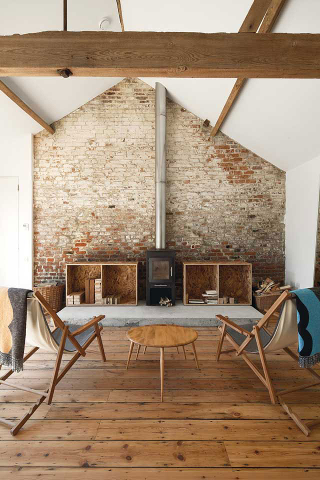 ochre barn living room architects