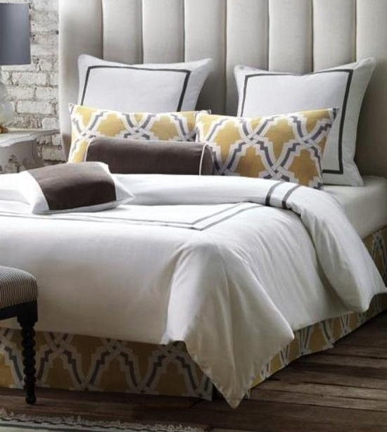 Davis bed sets traditional style to an urban environment.