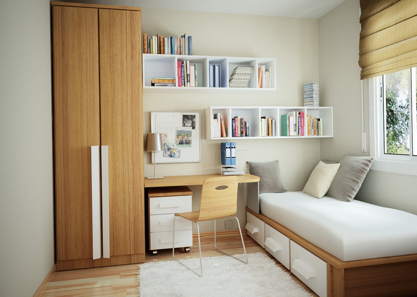 Small Office Bedroom Ideas