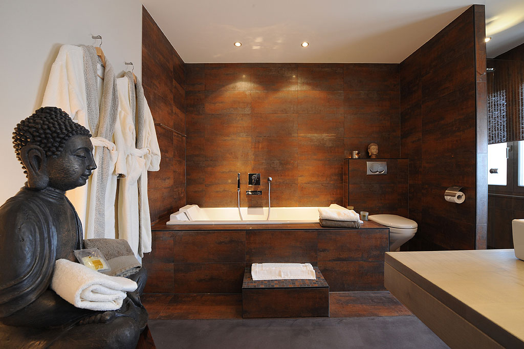 Zen bathing area is the ultimate pamper and relaxation zone