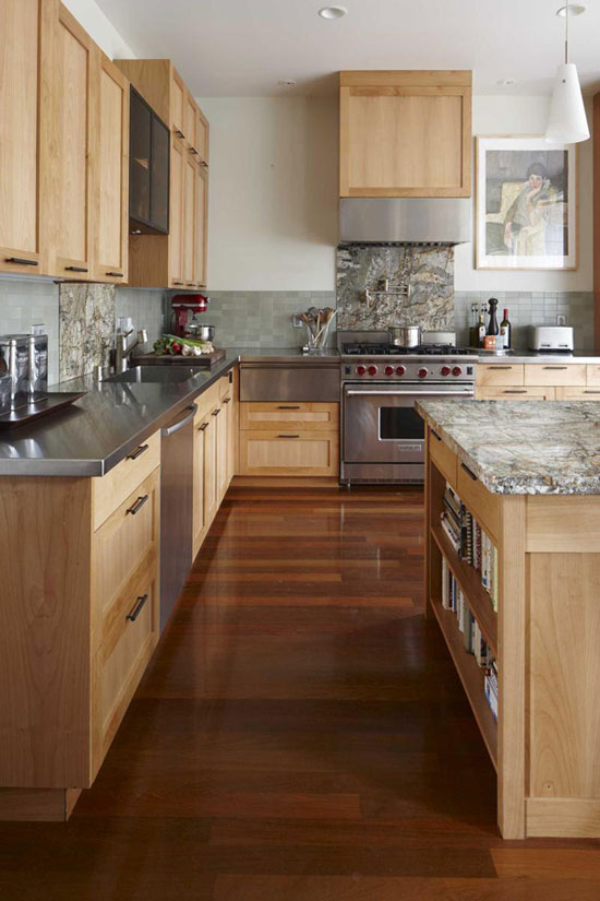 Modern Wooden Kitchen Designs
