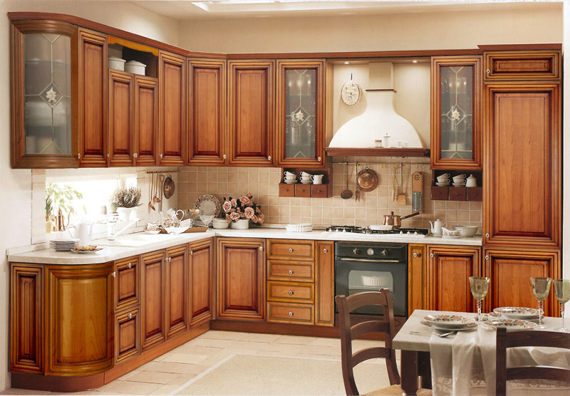 wood kitchen cabinets design