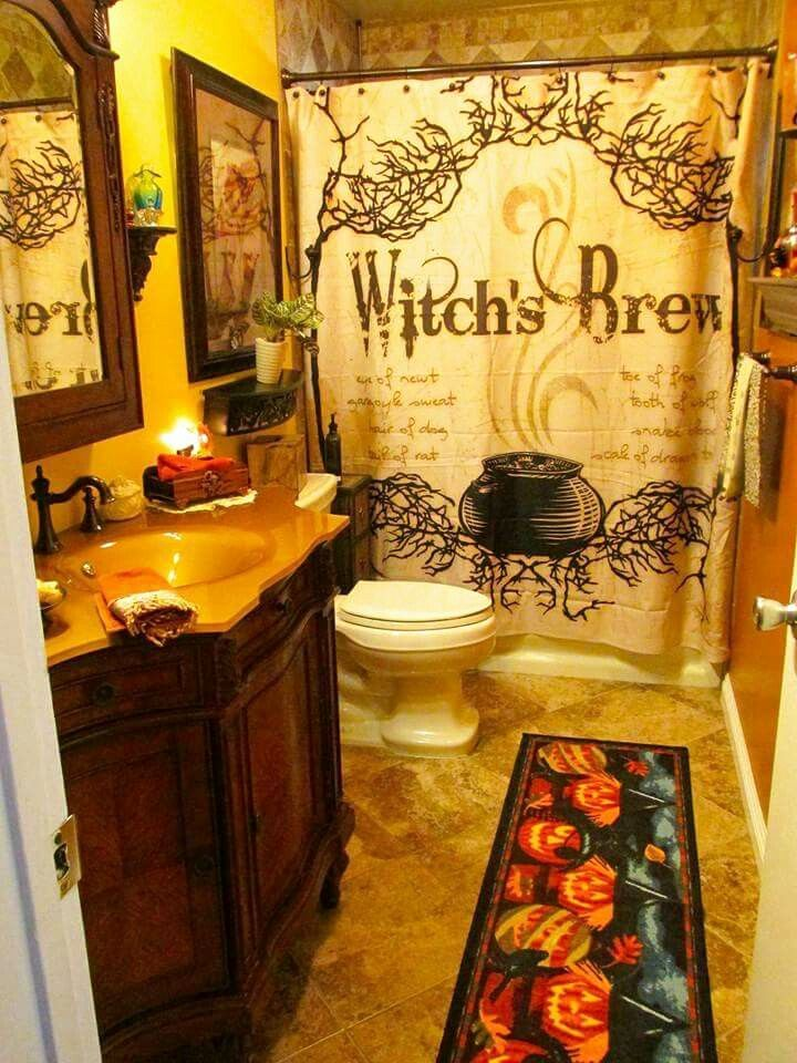 Bathroom Halloween Decorations