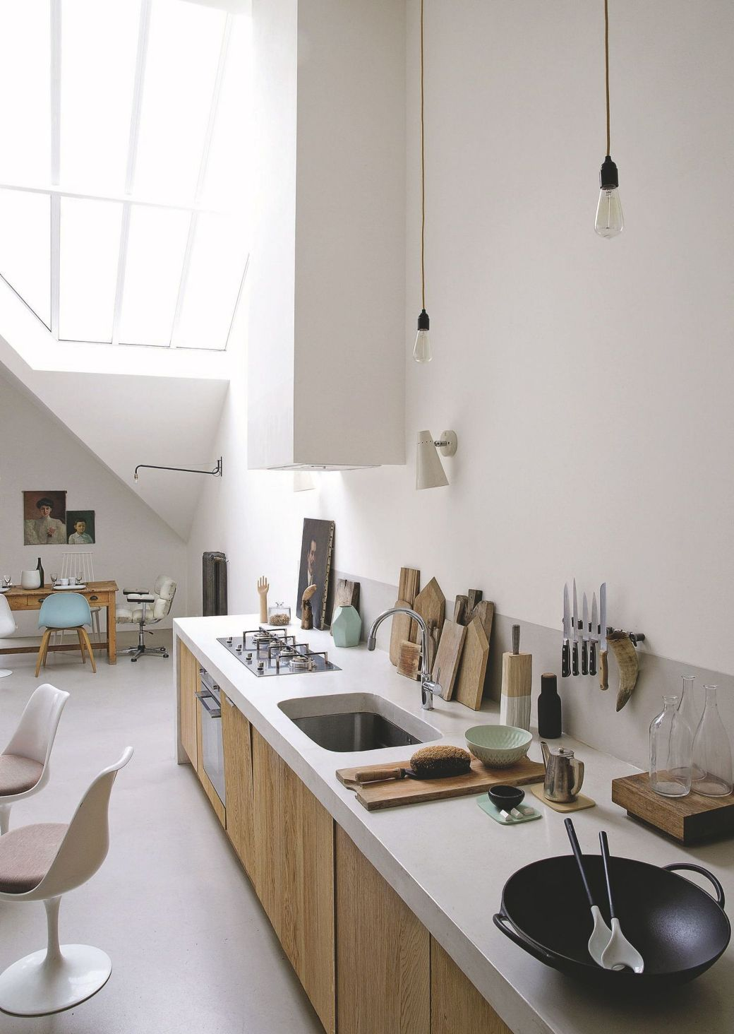 loft kitchen design ideas