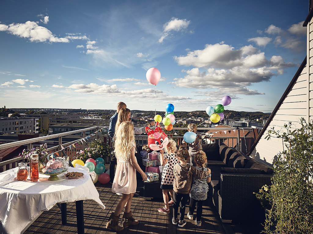 Rooftop Terrace Kids Party