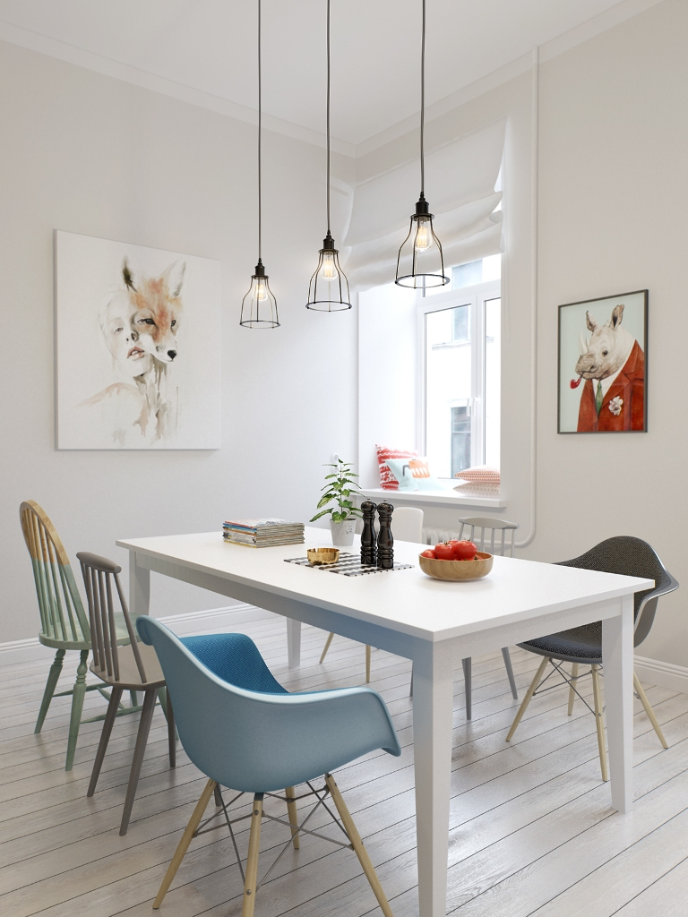 Scandinavian Dining Room Decoration