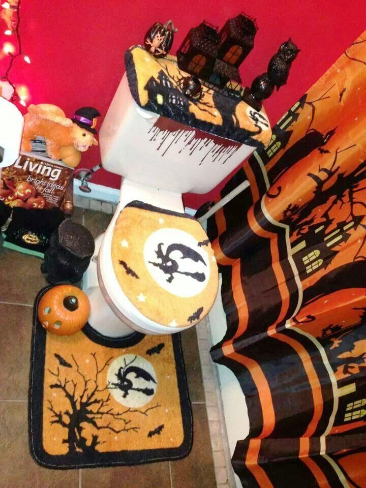 halloween decorations bathroom designs