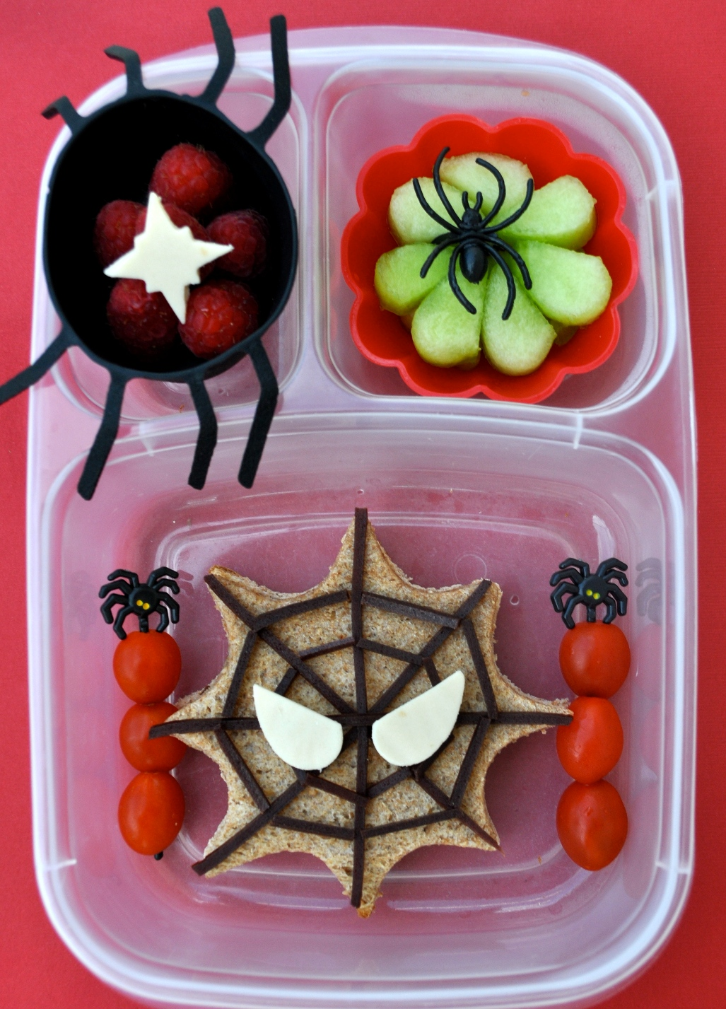 Food Box Spider Decorations