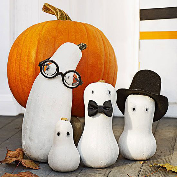 cute black and white halloween decorations ideas