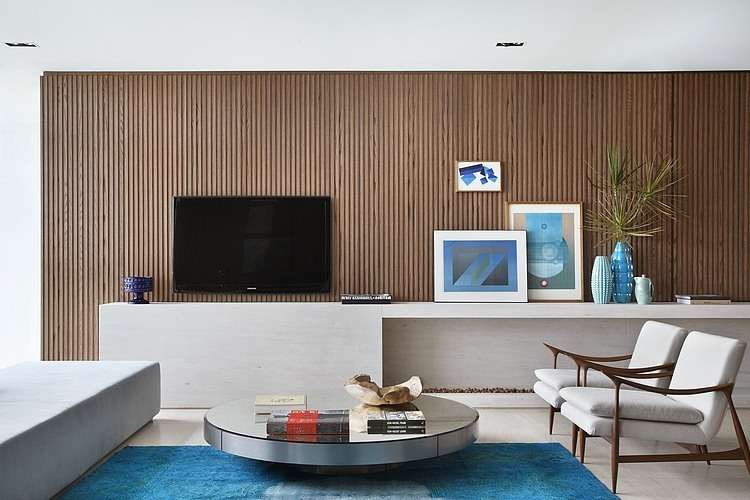 10 mid century modern design lessons to remember - Apartment living room decor ...