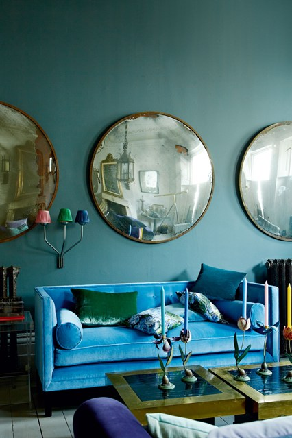 Blue Paint schemes for living rooms