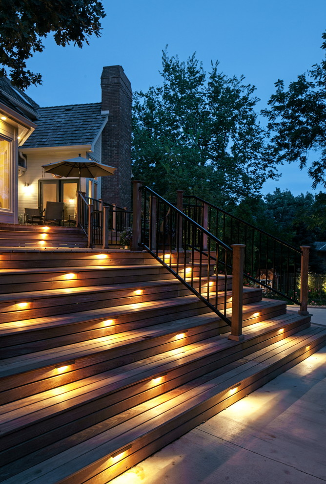 exterior deck lighting ideas