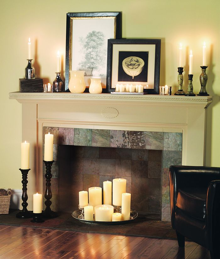 Clever Ways To Decorate Your Fireplace When Winter S Gone