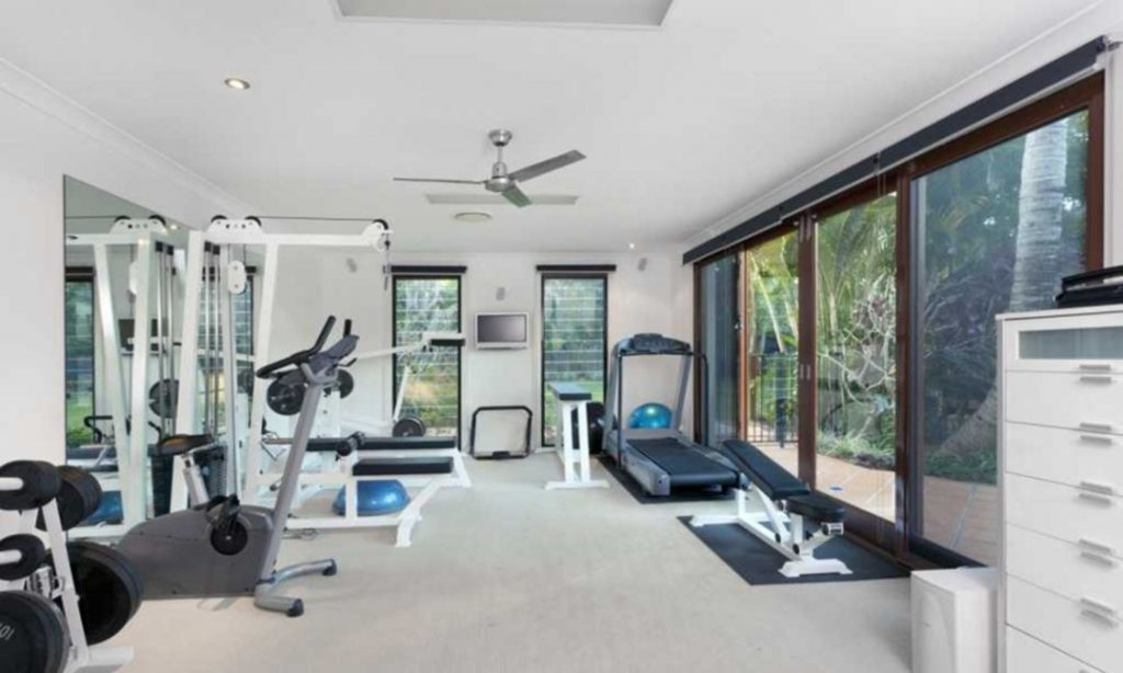 Get Fit in an Exercise Room