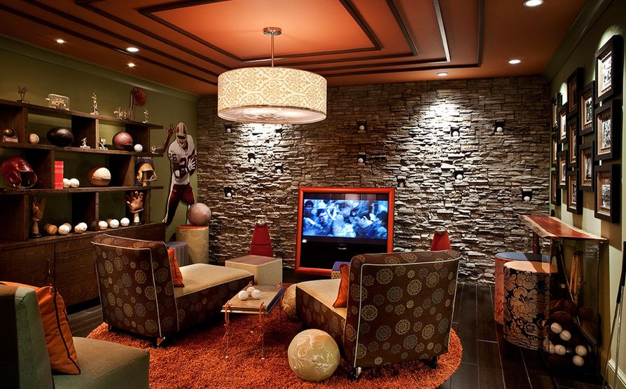 Fabulous Unique Ideas For Creating A Stylish Man Cave Residence Style Ibusinesslaw Wood Chair Design Ideas Ibusinesslaworg