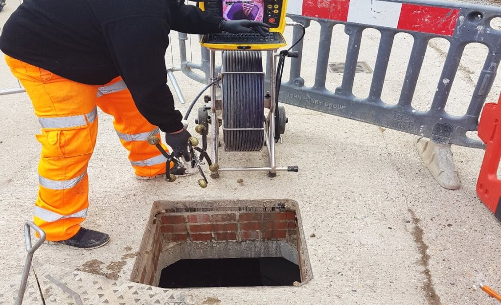CCTV Drainage Survey-Equipment used and the process